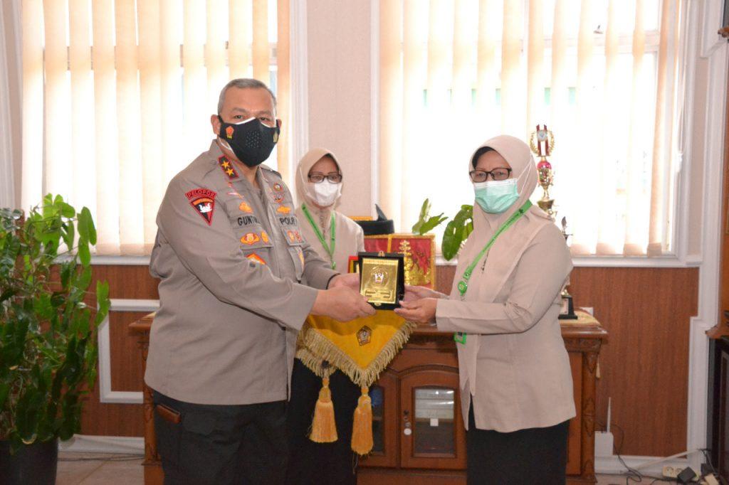 Kepala Kepolisian Daerah (KAPOLDA) Bengkulu Kunjungan di Poltekkes Kemenkes Bengkulu