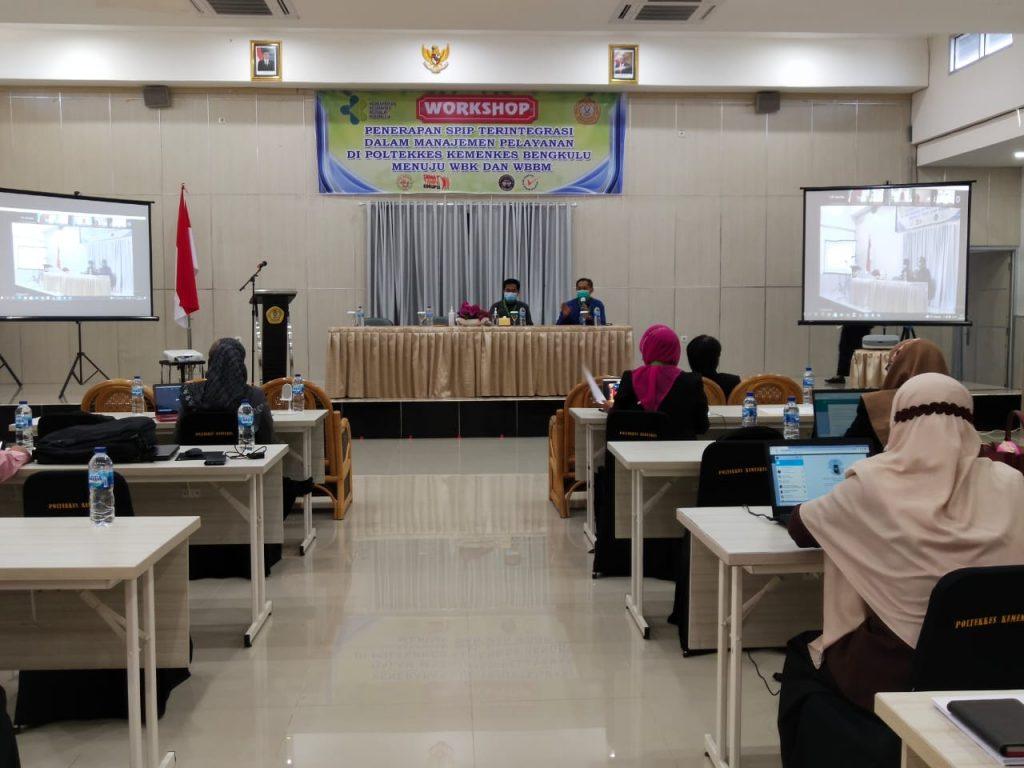 Workshop Komitmen Civitas Akademika Polkeslu dan Peran SPI dalam Mewujudkan WBK dan WBBM Tahun 2021